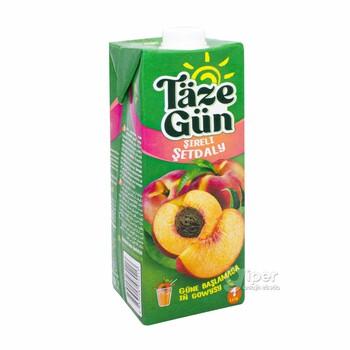 """Täze Gün"" сок персиковый, 1 л"