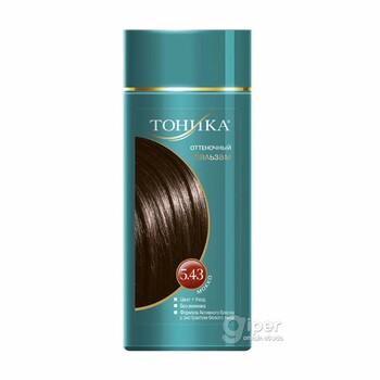 """Оттеночный бальзам """"Тоника"""" для волос, 5.43 мокко, 150 мл"""