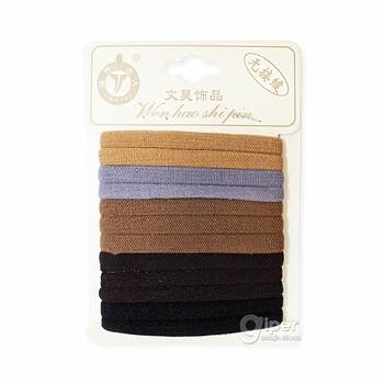 MIA Резинки для волос в упаковке 12 шт. (цвет МИКС), (164487)
