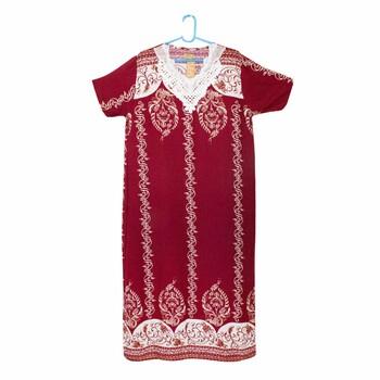 Платье для дома с поясом (L)