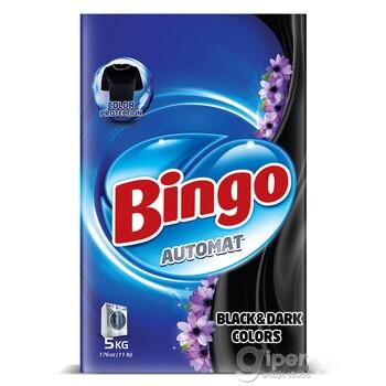 """Стиральный порошок Bingo """"Черный и темные цвета"""" автомат, 5 кг"""