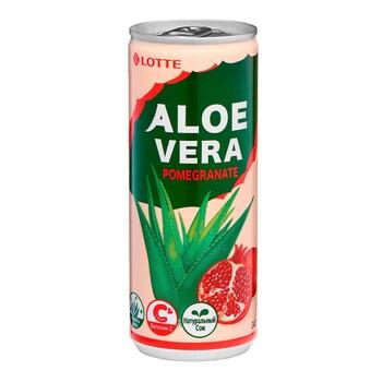 Напиток Lotte Алое Вера со вкусом граната, 240 мл