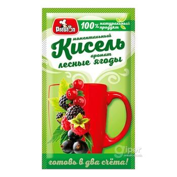 Моментальный Кисель Preston с ароматом лесных ягод, 30 г