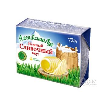 """Маргарин """"Альпийский Луг"""" Сливочный Вкус, Халяль, 72%,  200 г"""