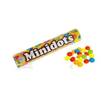 """Шоколадные драже """"Minidots"""" 12 г"""