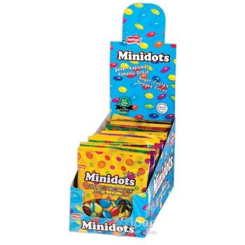 """Шоколадные драже """"Minidots"""" 25 г"""
