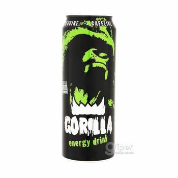 """Напиток безалкогольный тонизирующий (энергетический) газированный """"Gorilla"""", 0.45 л"""