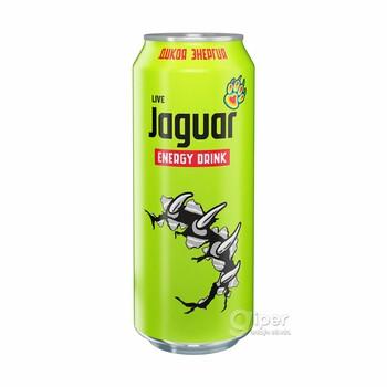 """Напиток безалкогольный тонизирующий (энергетический) газированный """"Jaguar Live"""", 0.5 л"""