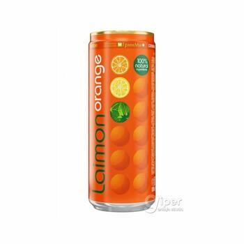 """Напиток безалкогольный газированный """"Laimon orange"""", 0.33 л"""