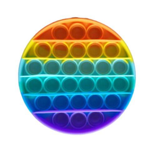 Мягкая игрушка антистресс Pop It (круглая)