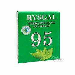 "Турецкий зеленый чай ""Rysgal"" крупнолистовой, 100 г"