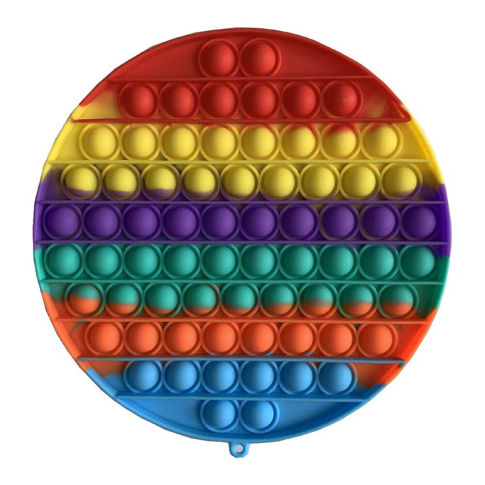 Мягкая игрушка антистресс POP IT (круг)