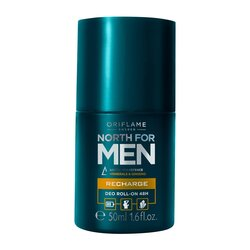 "Дезодорант - антиперспирант с шариковым аппликатором Oriflame ""North for men"" 32013.1, 50 мл"