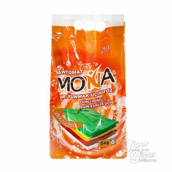"""Стиральный порошок """"Mona"""" Для цветных тканей (автомат), 5 кг"""