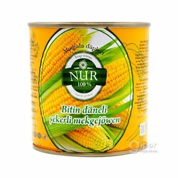 """""""Nur"""" Цельнозерновая сахарная кукуруза, 400 г"""