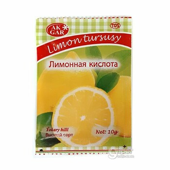 """Ak Gar"" Лимонная кислота, 10 г"