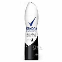 Антиперспирант спрей Rexona Невидимая на черном и белом, 150 мл