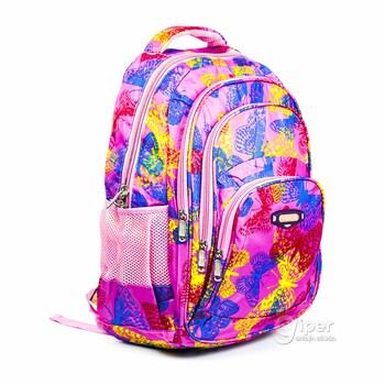 "Рюкзак ""Chenson"" с бабочками, розовый"