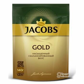 Кофе Jacobs Gold, пакет 140 г