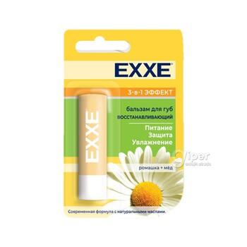 Бальзам для губ EXXE восстанавливающий 3-в-1 эффект, 4,2 г (стик)