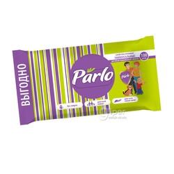 Влажные салфетки Parlo Универсальные, для всей семьи, антибактериальные, 100 шт