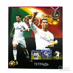 """Общая тетрадь """"YaLong"""" Cristiano Ronaldo, 48 листов в клетку"""