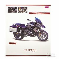 """Общая тетрадь """"YaLong"""" Motorcycle, 48 листов в клетку"""