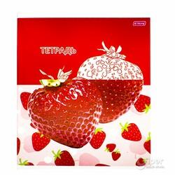 """Общая тетрадь """"YaLong"""" Strawberry, 48 листов в клетку"""