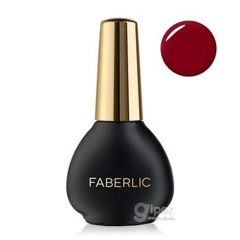 """Лак для ногтей """"Faberlic"""" Гелевое покрытие, тон «Великолепный гранат» 8.3 мл"""