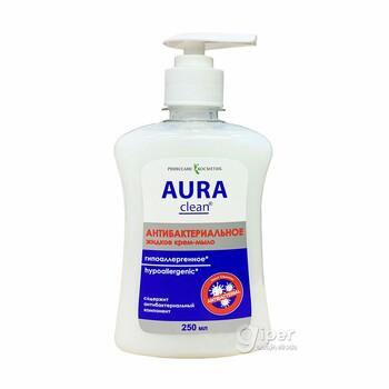 """Жидкое крем-мыло """"AURA"""" Антибактериальное и Гипоаллергенное, 250 мл"""