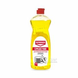 """Средство для мытья посуды """"ПЕРВОЦЕН"""" Лимон, 1 л"""