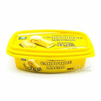 "Сливочное масло ""Şawat"" жирность 82,5%, 150 г"