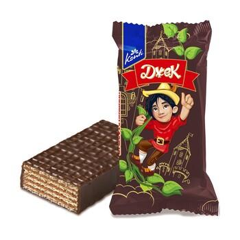 """Конфеты вафельные Konti """"Джек"""" шоколадные, 30 гр"""
