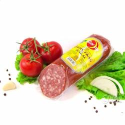 """Полукопченая колбаса """"Şamçyrag Halal"""" от Täze aý, 365 г"""