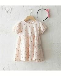Розовое платье, 12-18 месяцев