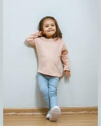 Светло-розовая футболка, 6-9 месяцев