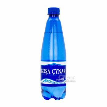 """Газированная минеральная вода """"Goşa Çynar"""", 500 мл"""